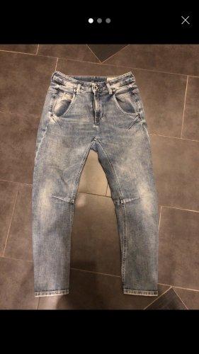 Diesel Jeans boyfriend bleu azur
