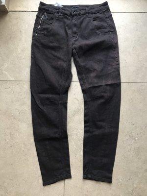 Diesel Black Gold Boyfriend jeans donkerbruin