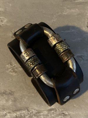 Diesel Lederen armband veelkleurig