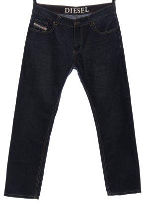 Diesel Five-Pocket-Hose blau Casual-Look