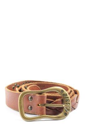 Diesel Cintura intrecciata marrone stile casual