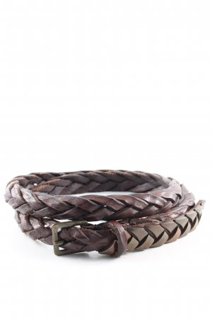 Diesel Braided Belt brown casual look