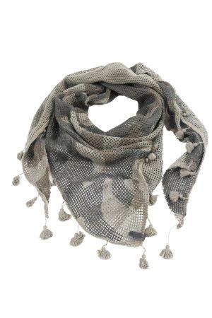 Diesel Sjaal met franjes Webpatroon casual uitstraling