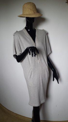 Diesel, graues, schickes Kleid in V-Linien Form, Gr. M