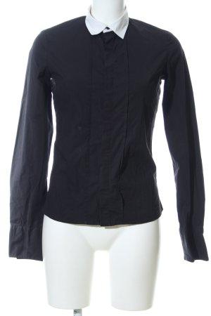 Diesel Hemd-Bluse schwarz Casual-Look