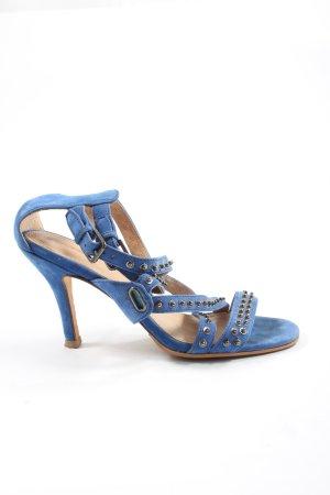 Diesel High Heel Sandal blue casual look