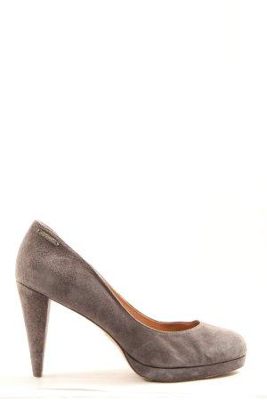 Diesel High Heels khaki Business-Look