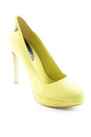 Diesel High Heels gelb Party-Look