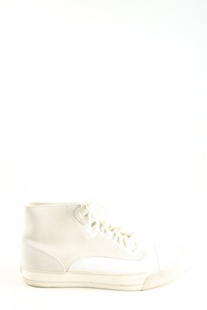 Diesel High Top Sneaker white casual look