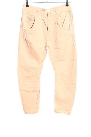 Diesel High-Waist Hose pink Casual-Look