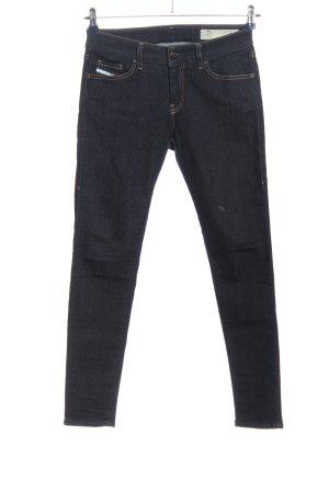 Diesel Jeans taille haute noir style décontracté