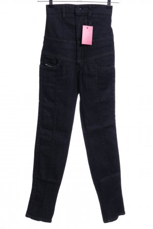 Diesel Hoge taille jeans blauw casual uitstraling