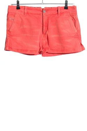 Diesel High-Waist-Shorts rot Casual-Look