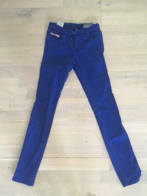 Diesel Pantalón de tubo azul