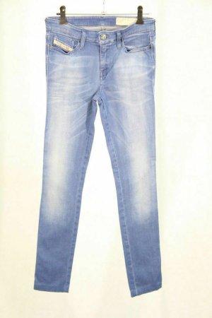 Diesel Hose Damen Pants Trousers Röhre Stretch Skinny Gr 34 (XS)