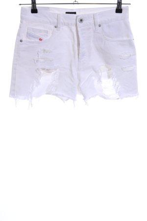 Diesel Hot Pants weiß Casual-Look