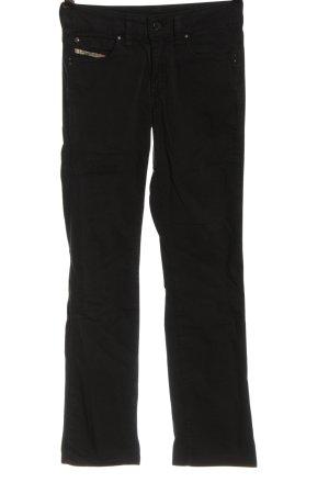 Diesel Low-Rise Trousers black casual look
