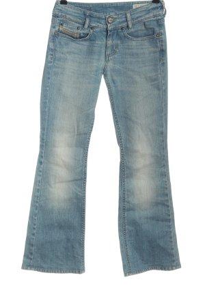 Diesel Jeansy biodrówki niebieski W stylu casual