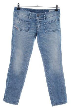 Diesel Industry 3/4 Jeans blau Casual-Look