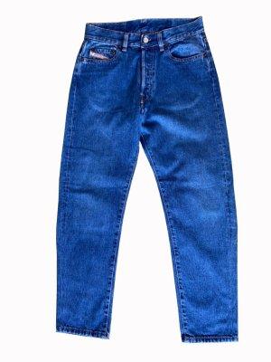 Diesel pantalón de cintura baja azul Algodón