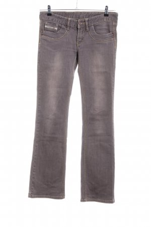 Diesel Industry Boot Cut Jeans braun Casual-Look