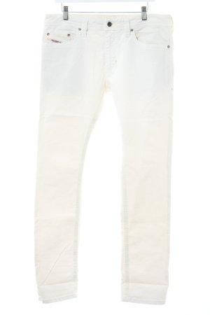 Diesel Industry Jeans boyfriend crème style décontracté