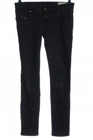 Diesel Industry Pantalone cinque tasche nero stile casual