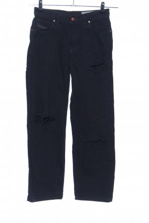 Diesel Industry High Waist Jeans schwarz Casual-Look