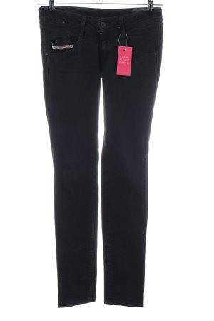 Diesel Industry Jeans taille basse noir style décontracté