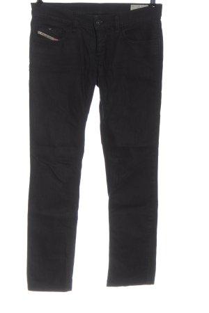 Diesel Industry Low Rise Jeans black casual look