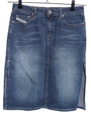 Diesel Industry Denim Skirt blue casual look