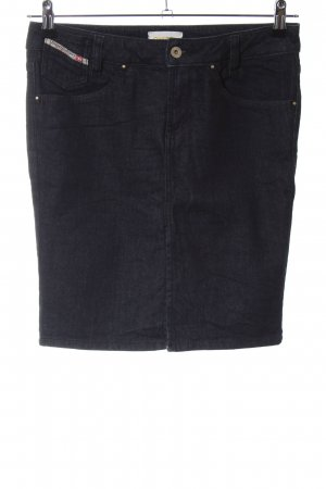 Diesel Industry Denim Skirt black casual look