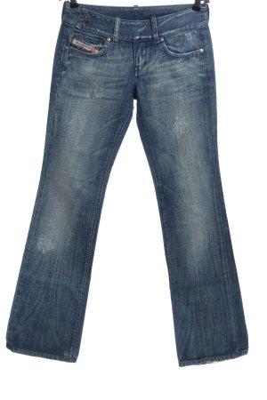 Diesel Industry Jeans a zampa d'elefante blu stile casual