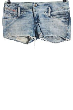Diesel Industry Pantaloncino di jeans blu stile casual