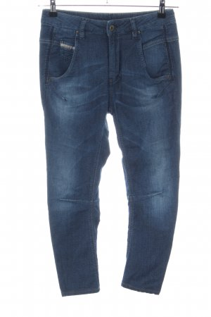 Diesel Industry Carrot Jeans blue casual look