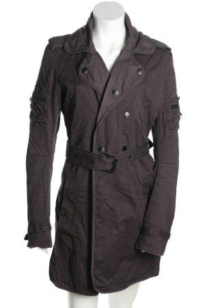 Diesel Industry Short Coat light grey casual look