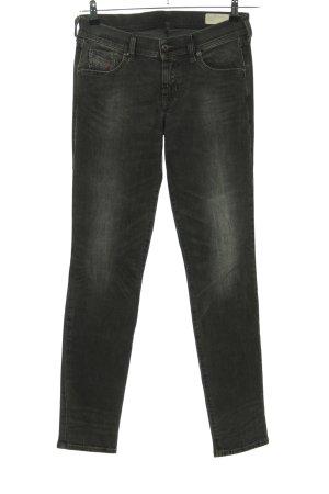 Diesel Industry Skinny Jeans schwarz Casual-Look