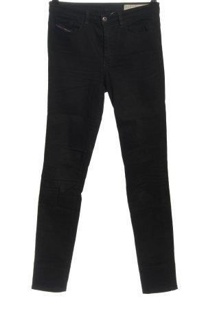Diesel Industry Skinny Jeans black casual look