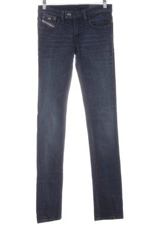 Diesel Industry Skinny Jeans dunkelblau Jeans-Optik
