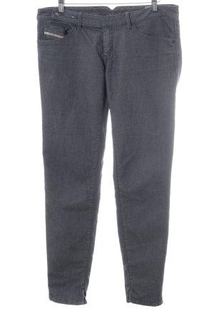 Diesel Industry Skinny Jeans dark grey casual look