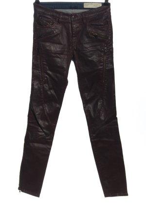 Diesel Industry Skinny Jeans brown casual look