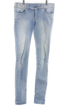 Diesel Industry Skinny Jeans himmelblau Casual-Look