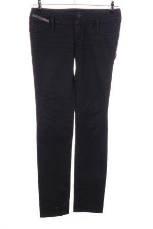 Diesel Industry Jeans slim noir style décontracté