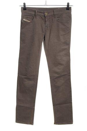 Diesel Industry Jersey Pants brown casual look