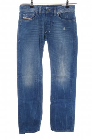 Diesel Industry Straight-Leg Jeans blau Casual-Look