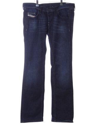 Diesel Industry Straight Leg Jeans blue casual look