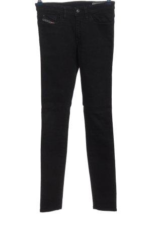 Diesel Industry Straight Leg Jeans black casual look