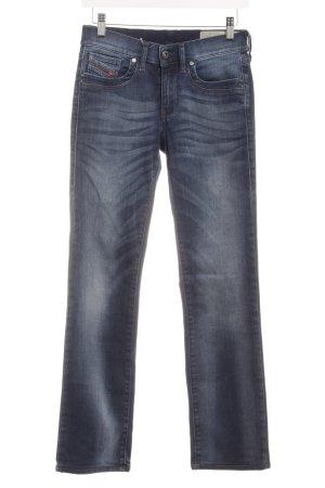 Diesel Industry Straight-Leg Jeans dunkelblau schlichter Stil
