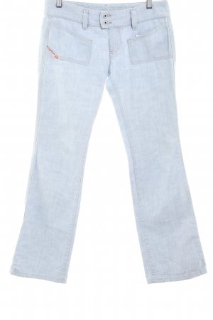 Diesel Industry Straight-Leg Jeans hellblau Casual-Look