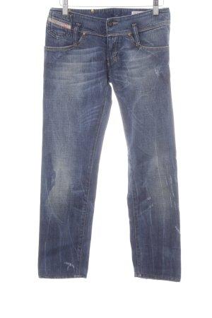 Diesel Industry Straight-Leg Jeans mehrfarbig Used-Optik